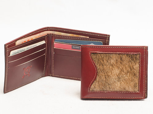 """Men's wallet """"Cowhide"""" with double card holder. BILL 54."""