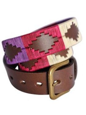 Cinturon bordado de polo Dama. CIN 40