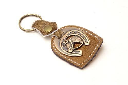 """""""Cowhide"""" key ring. LLA 04"""
