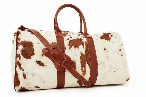 Large Cowhide leather travel bag. BOLS 22.