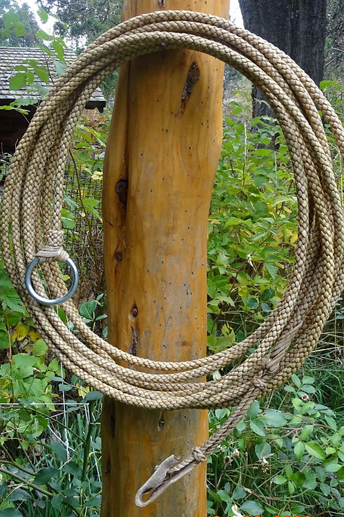 Rawhide riata ,8 strands braided. LAZ 08.