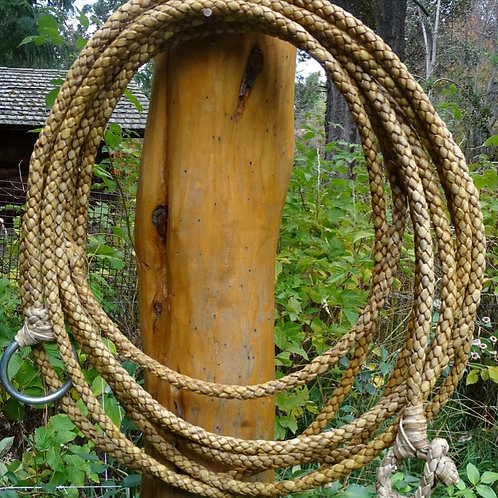 Rawhide riata , 6 strands braided. LAZ 06.