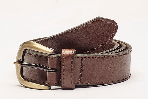 Cinturón Liso Marrón. CIN 18