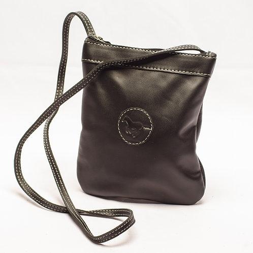 "Small ""Black"" Crossbody bag. MORR 07."