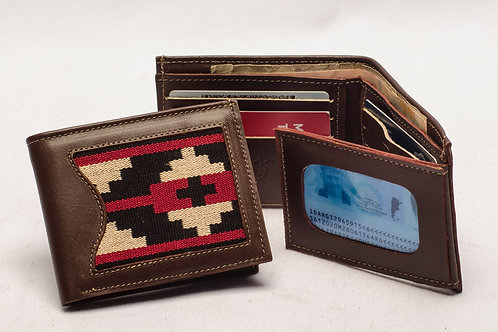 """Men's wallet """"Pampa"""" with double card holder and ID window. BILL 56."""