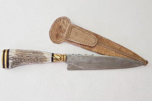 Copia de Copia de Copia de Stag horn knife. CUCH 72