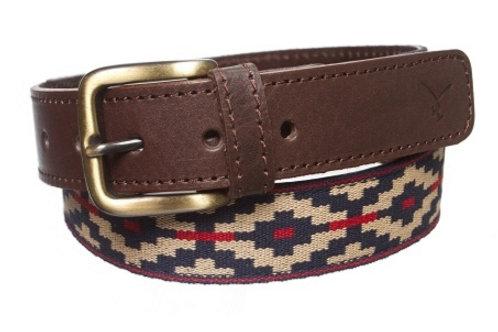 Cinturon de Cuero Pampa. CIN 24