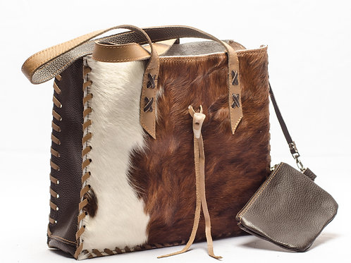 "Cowhide leather bag ""Briefcase"" . BOLS 07."
