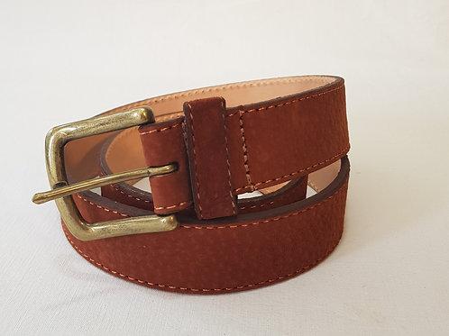 Cinturon de Carpincho liso. CIN 19