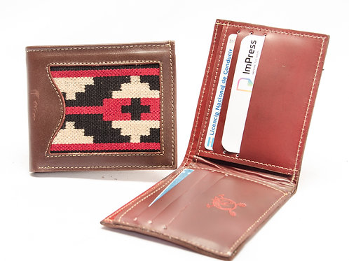 """Men's wallet """"Pampa"""" with double card holder. BILL 50"""