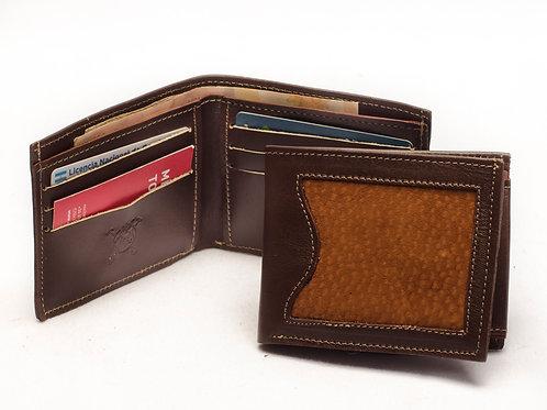 "Men's wallet ""Capybara"" with double card holder. BILL 50."