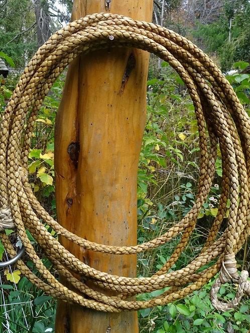 Rawhide riata ,4 strands braided. LAZ 04.