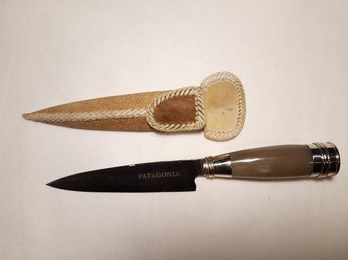 """Cuchillo de acero inoxidable con Cabo """"Asta de Vaca """". CUCH 79"""