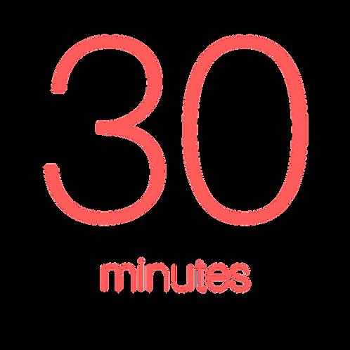 30 Minute Individual Consultation