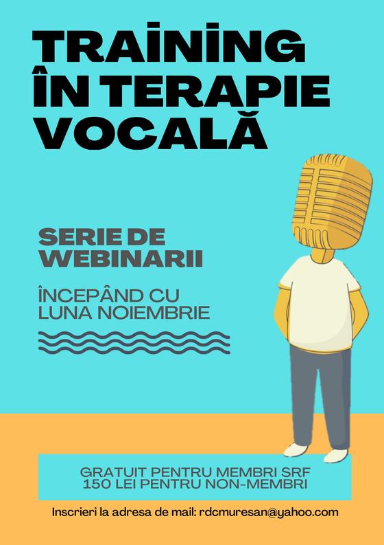 Training in terapie vocala