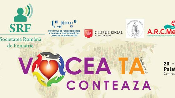 """Conferinţa Naţională cu participare internaţională """"Vocea ta contează"""","""