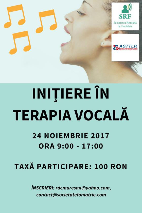 Initiere in terapia vocala