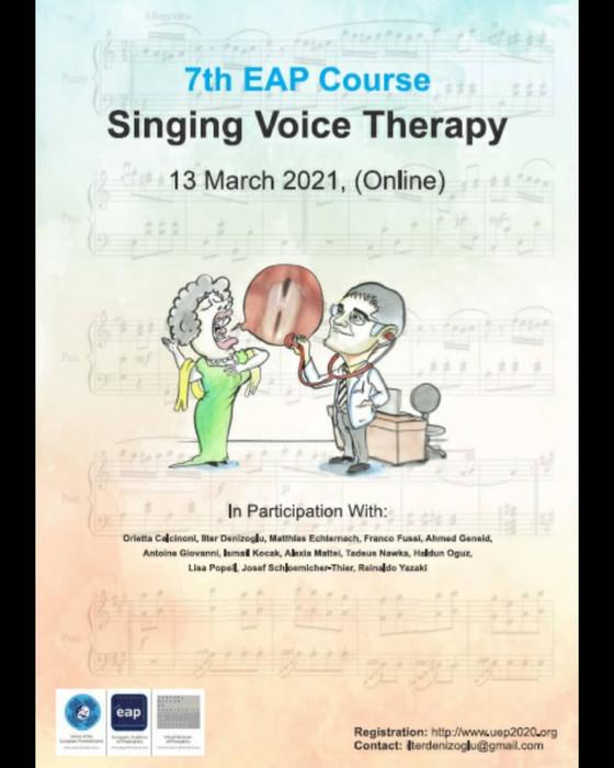 Terapia vocii cantate