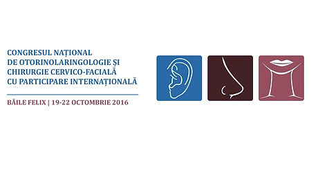 Congresul national de otorinolaringologie si chirugie cervico-faciala