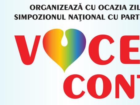 """A VI-a ediţie a Simpozionului Naţional """"Vocea Ta Contează"""" 05 – 06 aprilie 2019, Ramada Hotel &"""