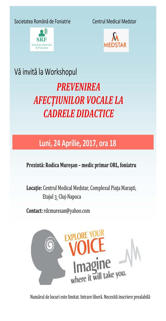 Prevenirea afectiunilor vocale la cadrele didactice
