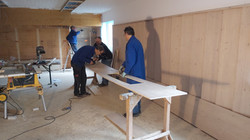 Vorbereitung Deckenelemente