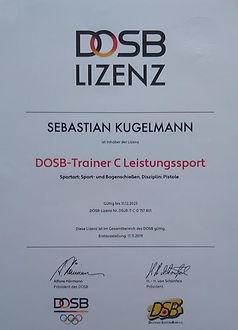 Trainer Lizenz