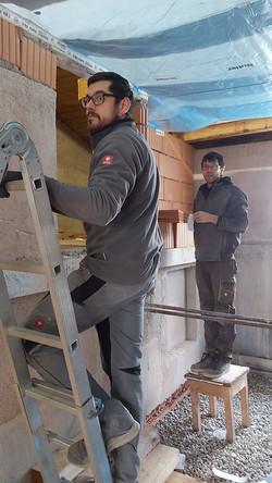 Wand - Deckenabdeckung