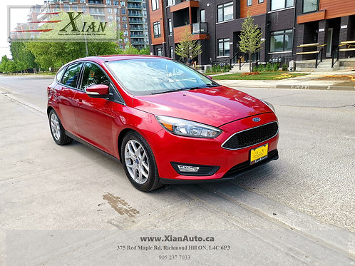 2015 Ford Focus Red SE