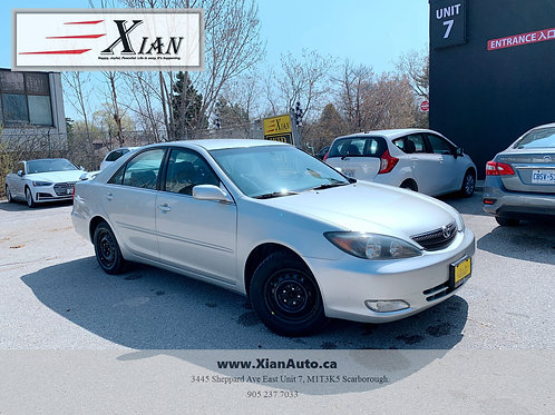 2003 Toyota Camry SE Silver
