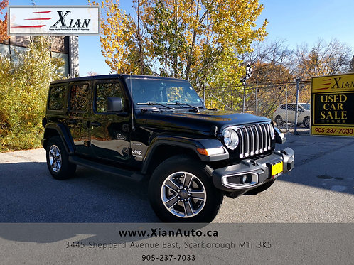 2018 Jeep Wrangler Black
