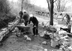 Arbeitseinsatz 90er Jahre