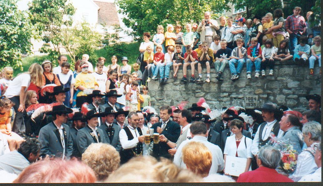 Brunnenherrenkürung 1999