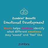 Zumbini Benefit - Emotional Development.