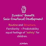 Zumbini Benefit - Socio-Emotional Develo