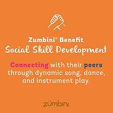 Zumbini Benefit - Social Skill Developme