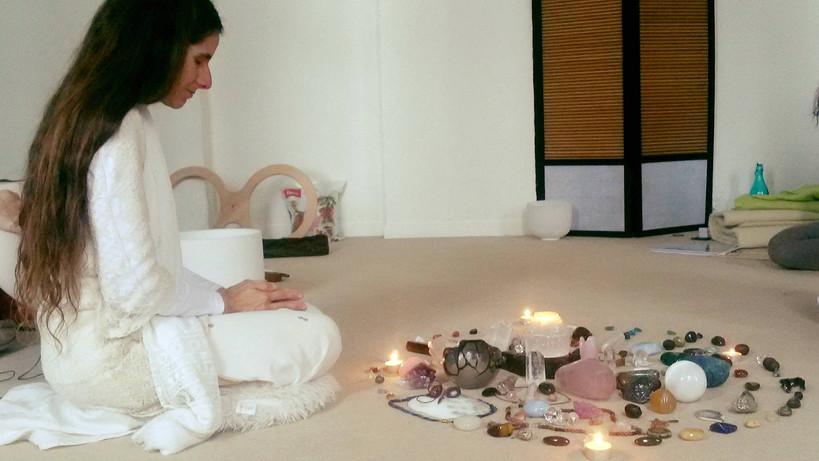 White & Ori - Practitioner - Sound Crystal Healing