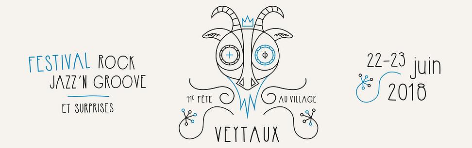 FEVI18 Logo officiel de la fête
