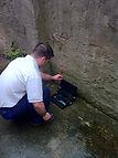 Pest Control Cardiff technician
