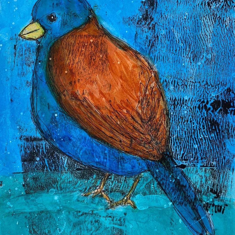 Blue Bird Song Bird