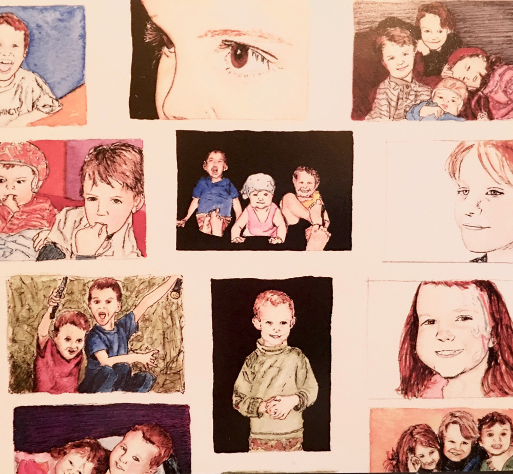 Family Collage (Close Up)
