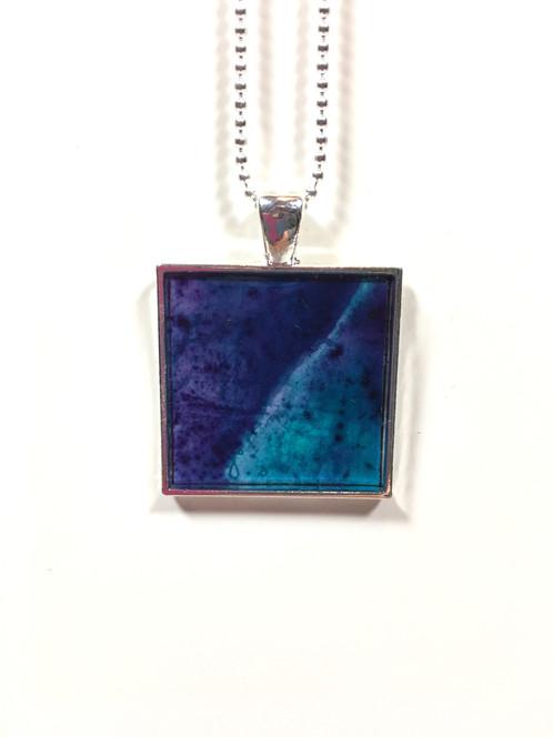Abstract pendant purpleturquoise aloadofball Gallery