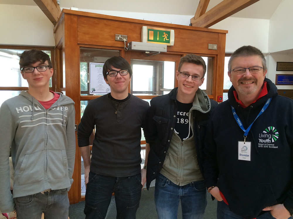 Mr Dowd and Year 13 students on the Youth Alpha Residential.jpg