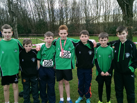 Success at South Antrim District Cross Country Championships