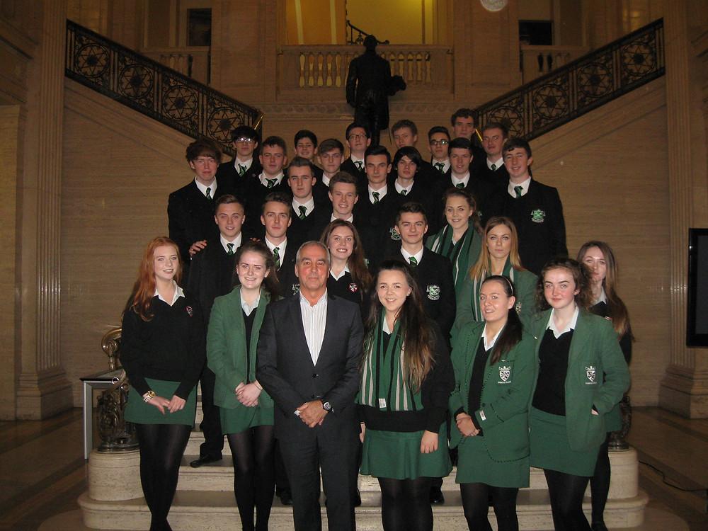 Politics Class at Stormont