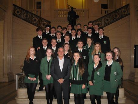 A Level Politics Class visit to Stormont