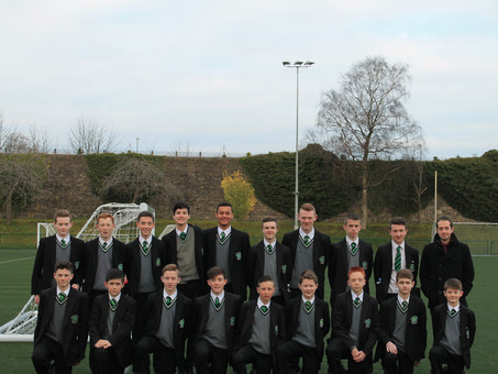 Year 10 Soccer team progress to the Semi-Final Stage of the NI Schools Cup