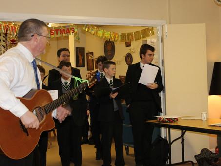 Folk Group Visit to Newington Day Centre