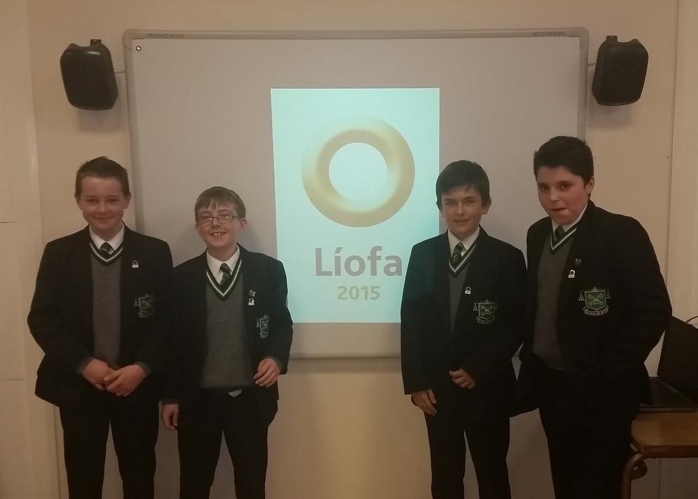 Students_from_Year 9_at_the_Líofa_presentation_Nov_2014.jpg