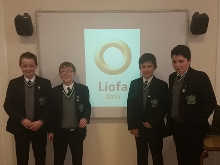 'Líofa' visit to the College to promote Gaeltacht scholarships